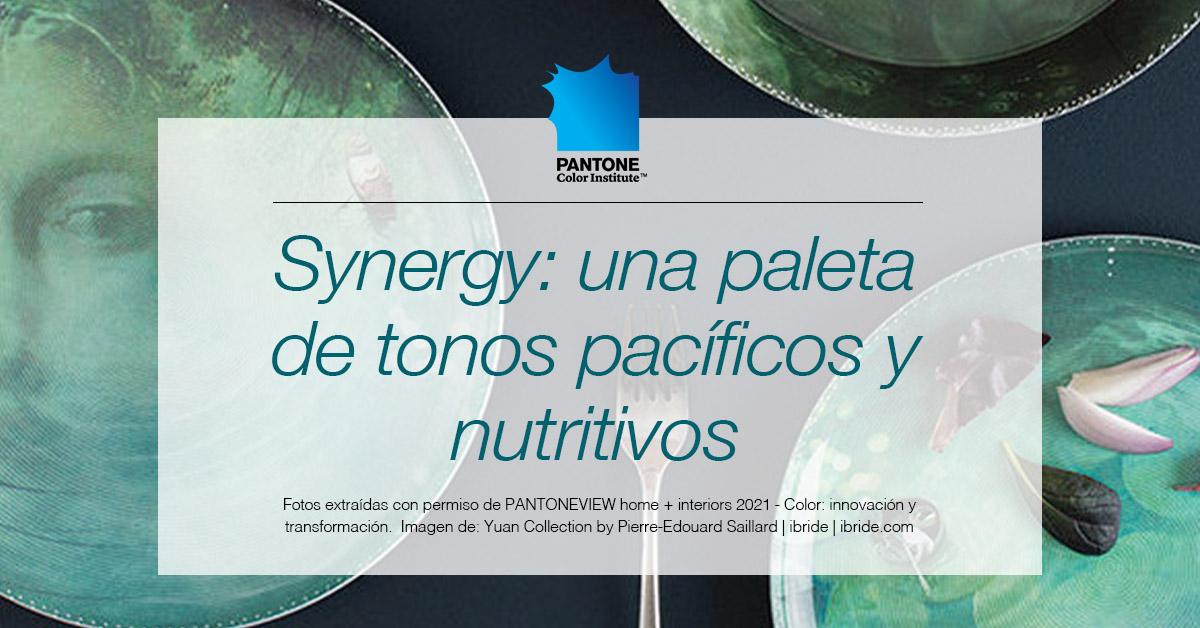 Synergy: una paleta de tonos pacificos y nutritivos
